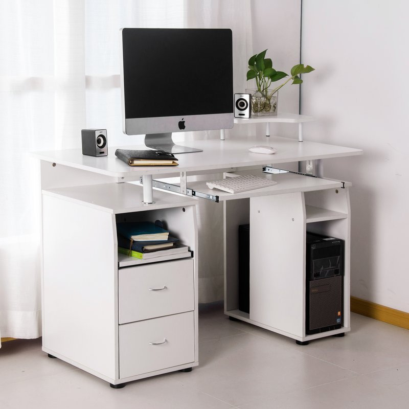 Extra Long Desk Table For Two